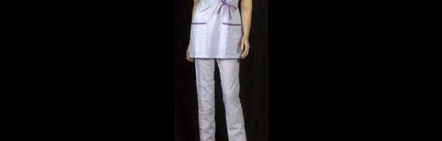 Медицинский костюм «Анита», отделка Сирень