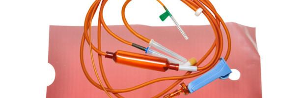 Система переливания инфузионных растворов