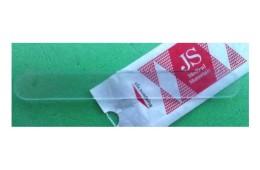 Шпатель отоларингологический пластиковый, прозрачний
