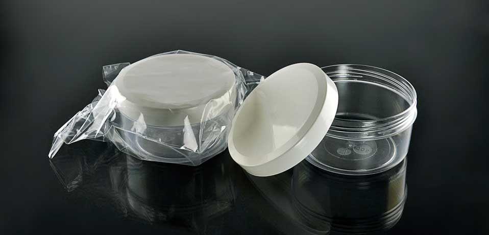 Контейнер для образцов продуктов питания 40 мл, стерильный №0005