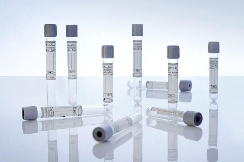 Вакуумная пробирка для стабилизации глюкозы
