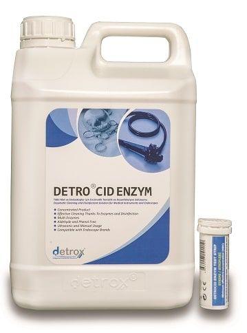Концентрированный энзиматический чистящий и дезинфицирующий раствор для инструментов и эндоскопов